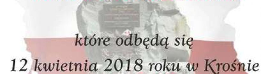 Zaproszenie na obchody rocznicowe Zbrodni Katyńskiej i Tragedii Smoleńskiej
