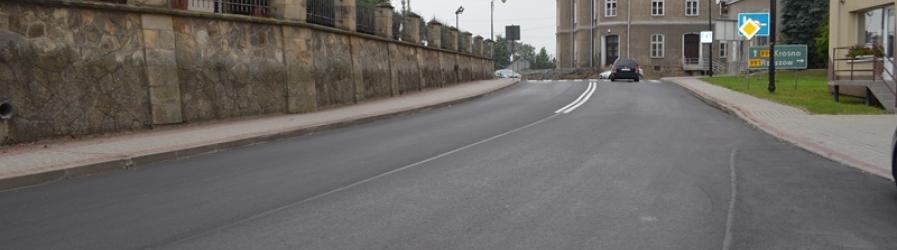 Przebudowano kolejne drogi powiatowe
