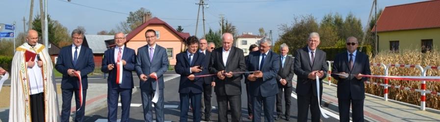 Przebudowa drogi powiatowej w Iskrzyni