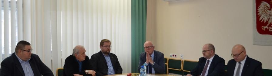 Spotkanie dyrektorów ZOZ działających w ramach dyspozytorni medycznej w Krośnie