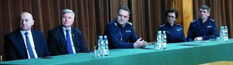 Roczna odprawa w Komendzie Miejskiej Policji w Krośnie