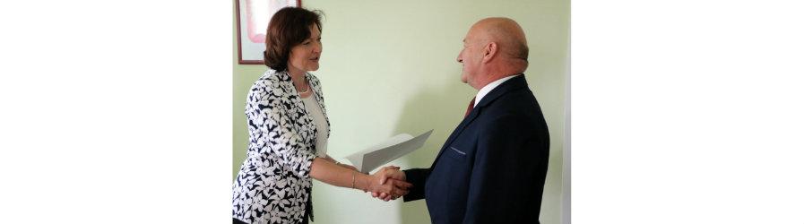 Kolejna promesa dla Powiatu Krośnieńskiego