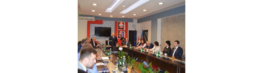 Spotkanie w sprawie utworzenia Stowarzyszenia Samorządów Pogórza Karpackiego