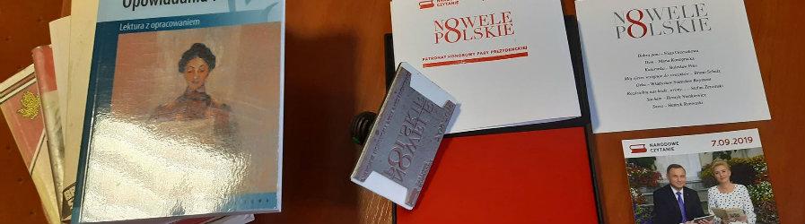 Polskie nowele lekturą Narodowego Czytania 2019!