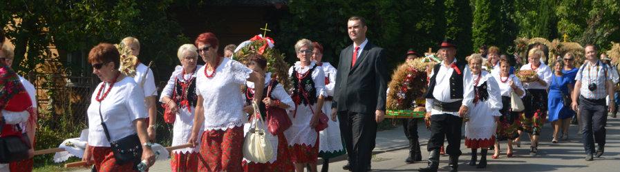 Archidiecezjalne dożynki w Markowej