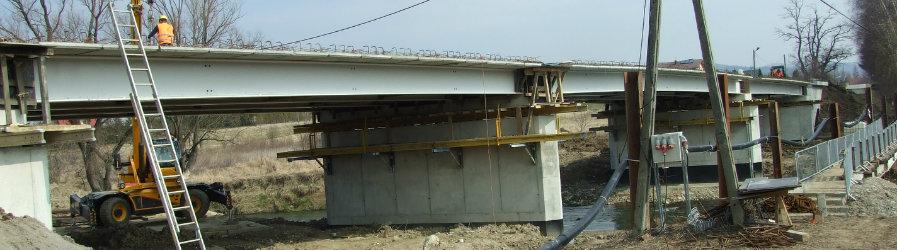 Częściowy odbiór mostu w Odrzykoniu