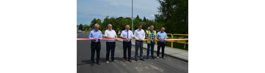 Mieszkańcy Korczyny mają przebudowaną drogę